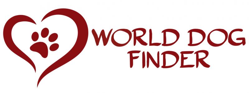World dog finder logo